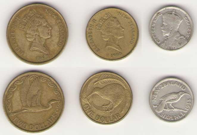 Монеты новой зеландии фото самоклеющиеся холдеры для монет купить